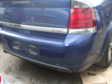 "VAUXHALL  VECTRA   MK 3  REAR BUMPER  2006  BLUE    ""USED"""
